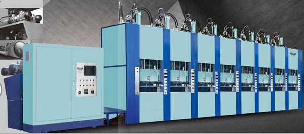 Vacuum Foaming Moulding Machine