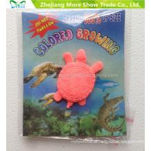 Os animais crescentes dos animais dos animais dos brinquedos da água do fornecedor da fábrica expandem brinquedos
