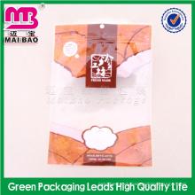 Pantone Color Print packing vacuum food poultry hanger seal lock foil bags