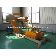 Metal Hydraulic Decoiler with Coil Car(10 tons)