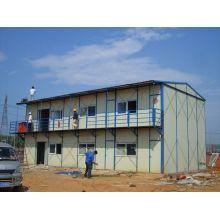 Acier léger préfabriqué / préfabriqué / maison de construction portable