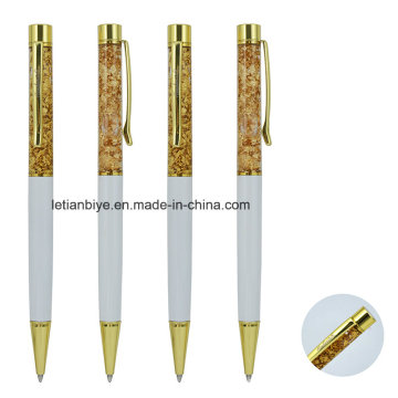 Gold Foil Paper Floated Promotion Gift Pen (LT-C055)
