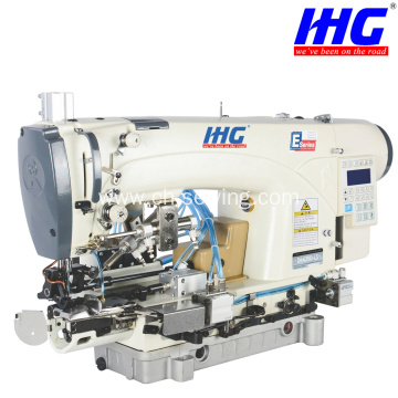 IH-639D-CSP Direct-Drive Chainstitch Bottom Hemming Machine