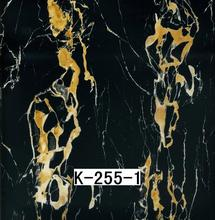Fashion marble hollow wall panel marble effect spray paint