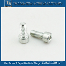 6*12mm Carbon Steel Zinc Galvanized Socket Cap Bolt