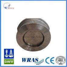 High cost performance lead free brass vertical spring check valve