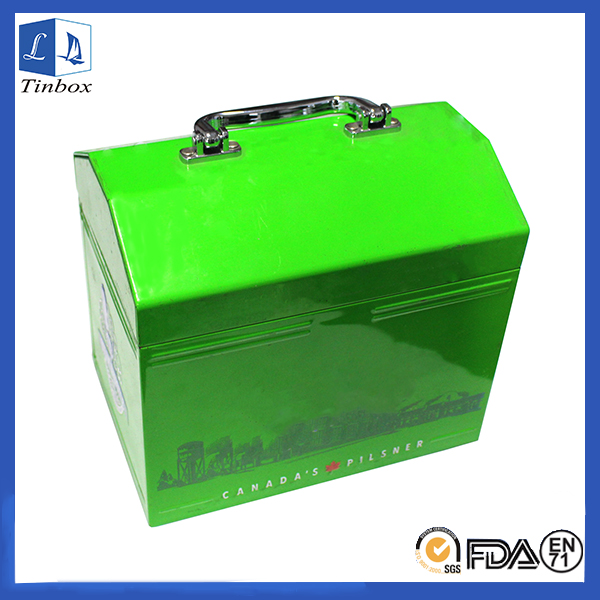 Tin Tool Packaging Design Box With Handle