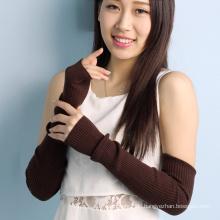 Großhandel Strickmuster fingerlose Winter Kaschmir Hand Handschuhe