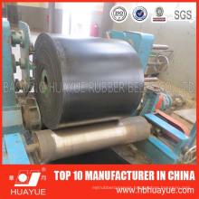 Crushing Granite Stone Handling Flat Rubber Nylon Polyester Industrial Belt