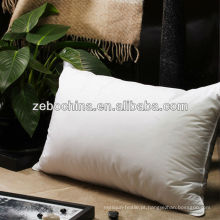 Fábrica de design de luxo de alta qualidade direta feita macia travesseiro de vida de hotel personalizado por atacado