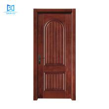 China factory supplied top quality wood veneer door interior double swing door GO-G14