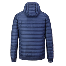 High Quality Hot Sale Warm Causal Zip Up Windproof Men's Down Coat Jackets