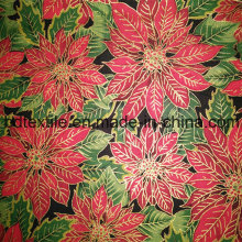 Factory Direct Sale Cotton Fabric with Golden Ink to Guatemala