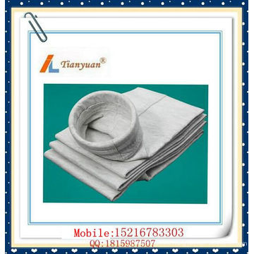 Anti-Static Water & Oil Prueba de poliéster aguja bolsa de filtro de fieltro