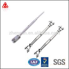 Parafuso de fixação do terminal da forquilha do aço inoxidável