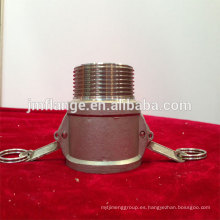 Acoplador de acero inoxidable 304 / 316l B macho