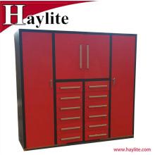 Diseño de gabinete de almacenamiento de metal personalizado con cerraduras y hardware para la venta