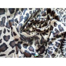Cachecol de padrão impresso Leopard fashion 2012