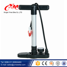 Wholesale Mini Portable alloy bike pump / Convenient bicycle foot pump / bicycle tire pump with pressure gauge
