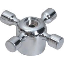 Wasserhahn Griff aus ABS-Kunststoff mit Chrom-Finish (JY-3069)