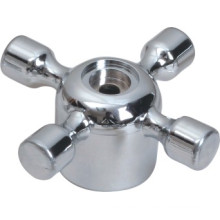 Faucet Handle in ABS Plastic With Chrome Finish (JY-3069)