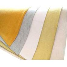 Material de fieltro de aguja 280 bolsa de filtro de polvo de fibra de vidrio de alta temperatura