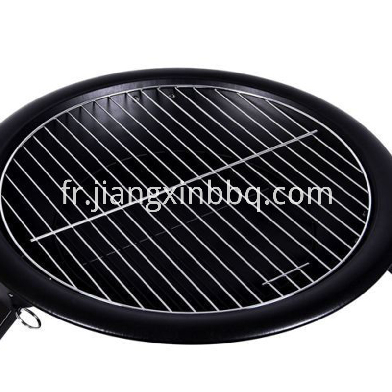 Folding Steel Fire Pit And Bbq Cooking Grate