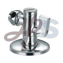 válvulas de ângulo de latão com união de tubos