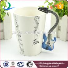 Taza de cerámica de la venta caliente, taza del chocolate caliente