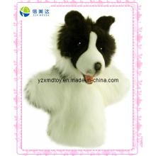 Fantoche da peluche do cão da alta qualidade (XDT-0131)