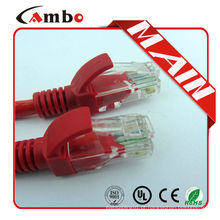 Cabo multipartes 7 * 0.16 Cabo Ethernet RJ45 Patch Cord Cat6 RJ 45 24 AWG