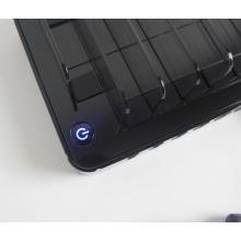 Cargador USB portátil multi de 5 puertos de carga rápida para teléfono móvil y tableta