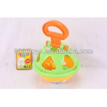Пластиковый мяч головоломка (форму сортировщик для детей, чтобы учиться)