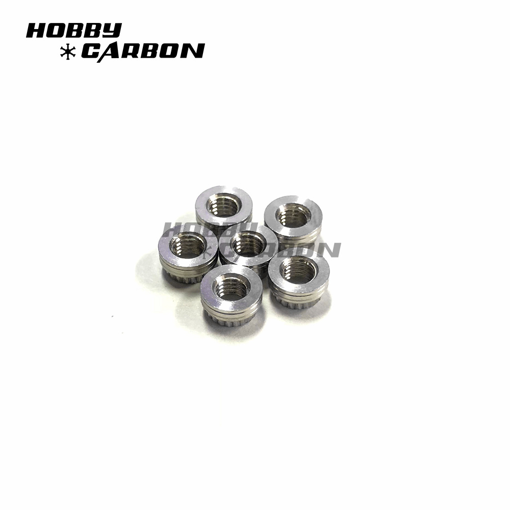M3 Stainless Nuts