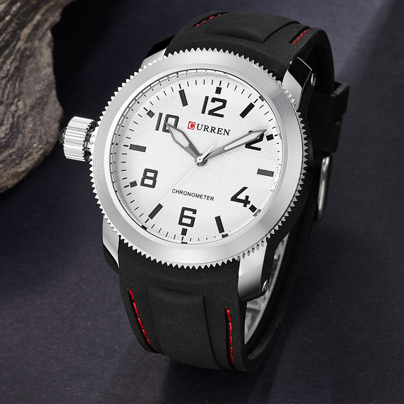 Silicon Sport Waterproof Watches for Men