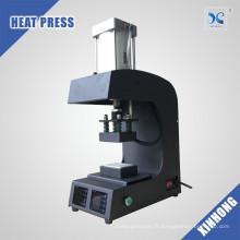 Plaques de chauffage double FJXHB5-R 8000PSI Machine de pressage à la résine pneumatique