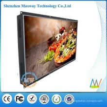 55 polegadas tela grande LCD abrir publicidade quadro