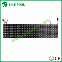 écran led programmable flexible ws2812b 3535 matrice RVB 16x16 8x32 P10 256 pixels