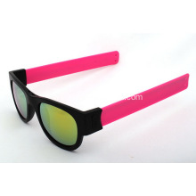 Promotional Protable Slap Wrist Sunglasses
