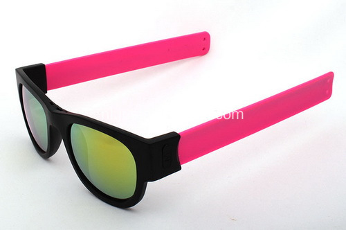 Promotionele Portable Slap Wrist Sunglasses