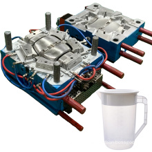 design custom household molding precision injecting pieces water jug mould kettle plastic injection mold