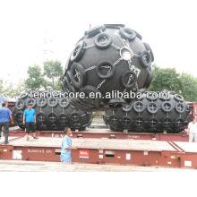 guardabarros flotante neumático usado para el barco y el barco