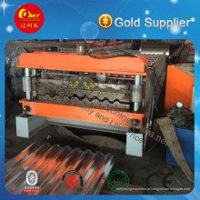Máquina Formadora de Rolos de Telha de Telha de Aço Galvanizado Padrão de Exportação