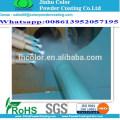 Revêtement en poudre métallique Ral 9006 à revêtement électrostatique