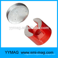 Painting round U shaped alnico magnet