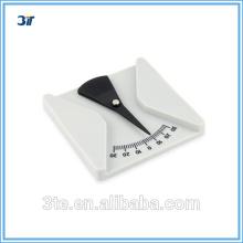 Lentes ópticas Herramientas de medición Plastic Protractor