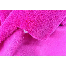 Solid One One Side Coral Fleece