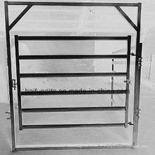 Panneaux de clôture de bétail de barrière en métal HDG Garde-corps animal