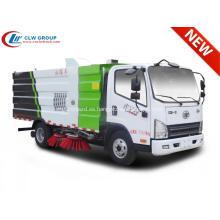2019 FAW 5cbm camión barredora de carretera para la venta