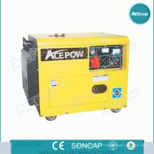 Générateur diesel refroidi par air de 5kVA 10kVA avec type silencieux